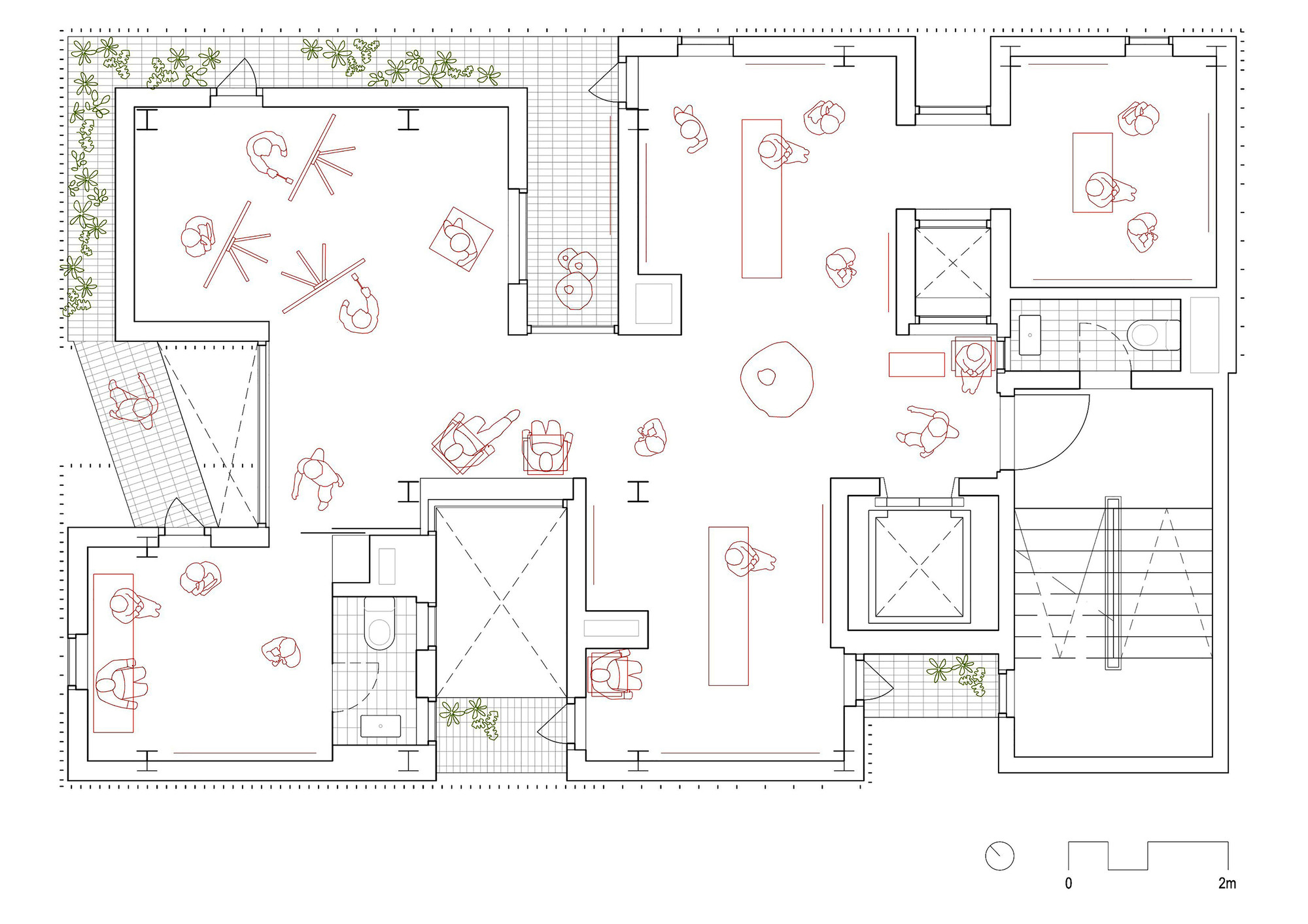 Organic Architecture Floor Plans Gallery Of Songpa Micro Housing Ssd 23