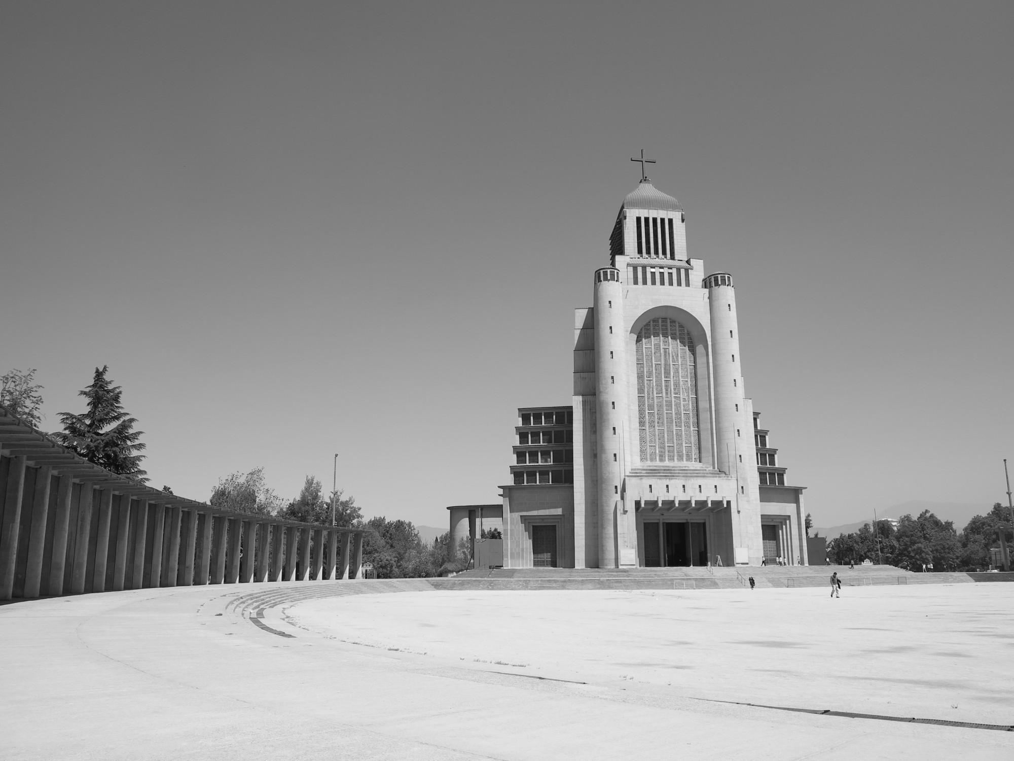 "Clásicos de Arquitectura: Templo Votivo de Maipú / Juan Martínez Gutiérrez, © Cortesía de ""Juan Martínez Gutiérrez, la voluntad moderna"""