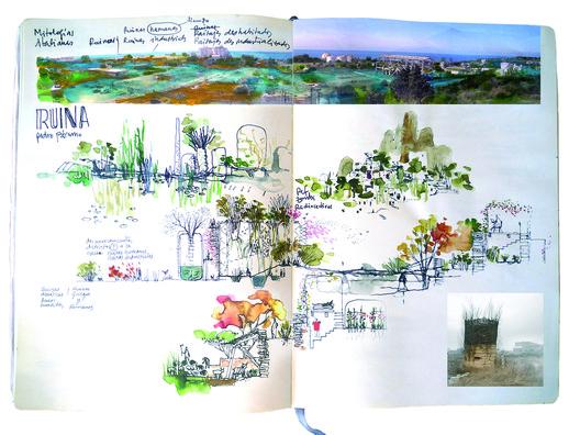 Anthropic Park. Image Cortesia de Holcim Awards