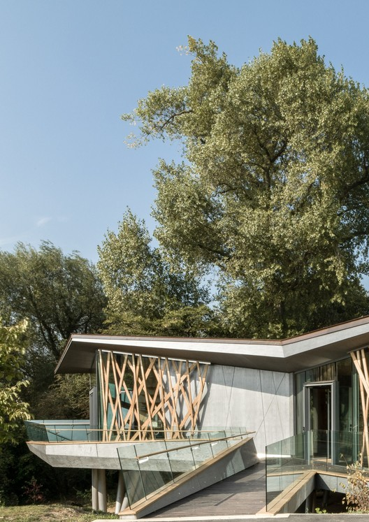 Maggie's Oxford / Wilkinson Eyre Architects. Image Courtesy of Wilkinson Eyre Architects