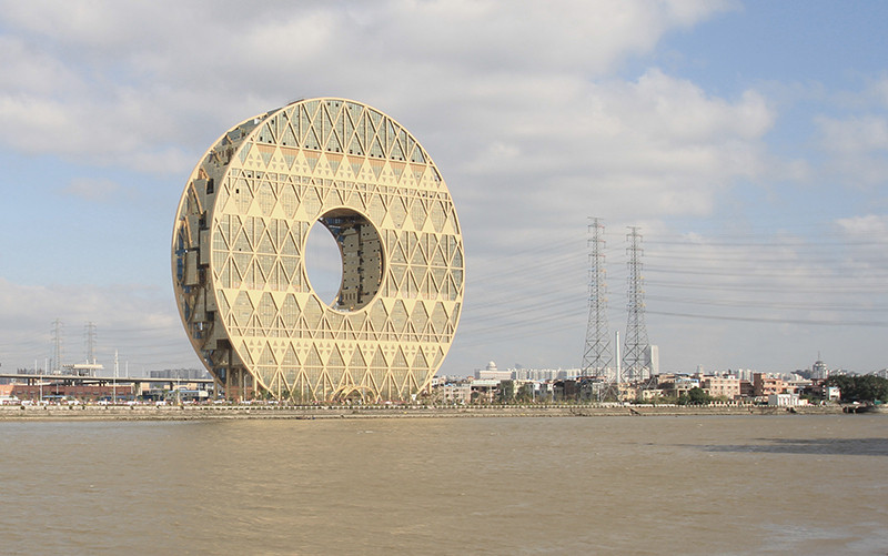 "Encountering the ""Weirdness"" in China: A Talk with the Guangzhou Circle Architect Joseph di Pasquale, Courtesy of Joseph di Pasquale Architect"