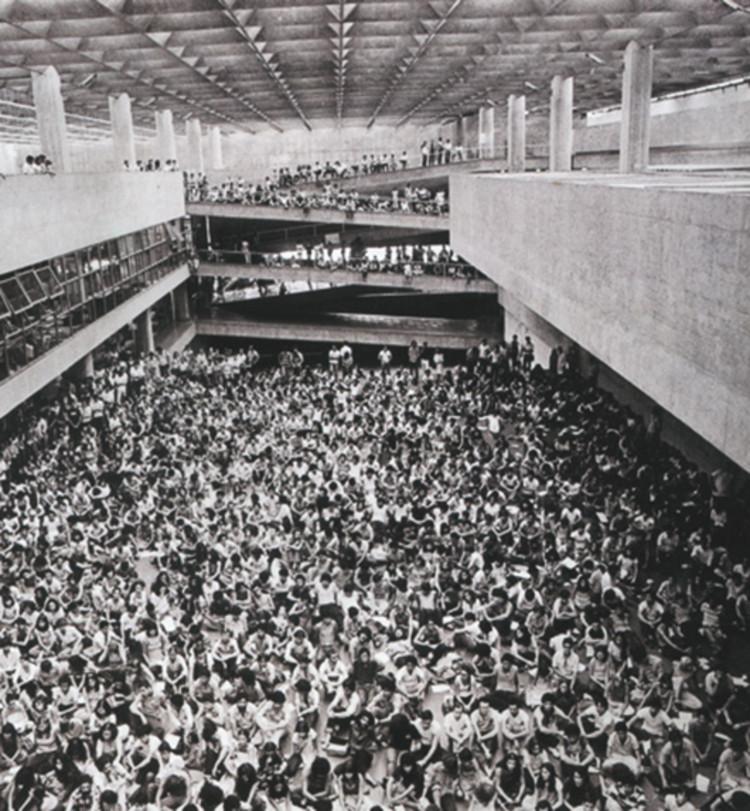 Feliz dia do Arquiteto e Urbanista!, FAUUSP, Vilanova Artigas, 1969. © Acervo FAUUSP