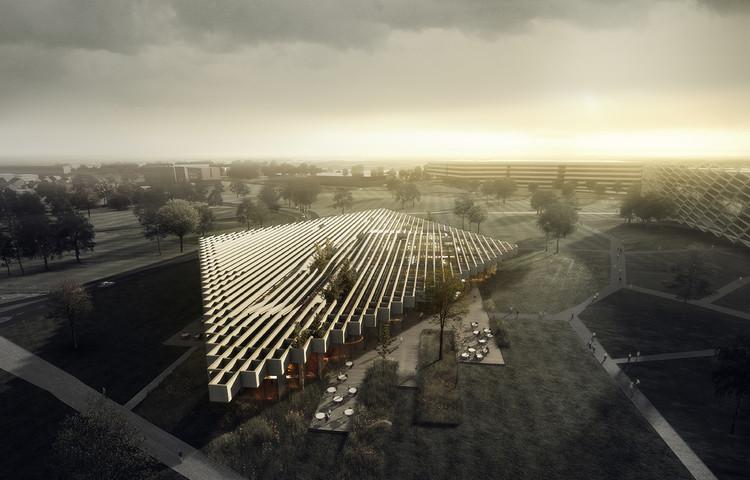 Adidas seleciona Cobe para projetar edifício na Alemanha, Courtesy of COBE