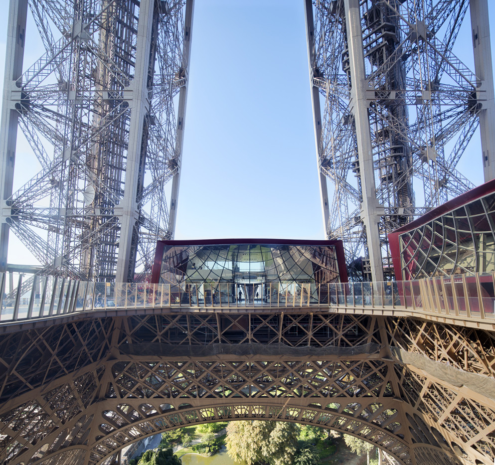 Eiffel Tower S First Floor Refurbishment Agence Moatti