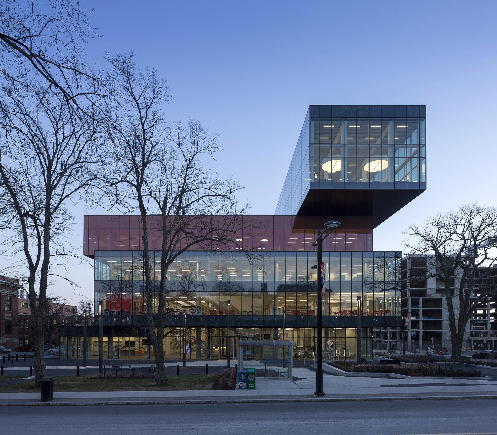 Nueva Biblioteca Central de Halifax / Schmidt Hammer Lassen, © Adam Mørk