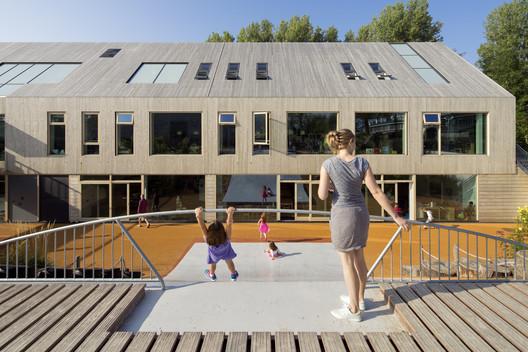 Expansión de la Escuela Americana de la Haya / Kraaijvanger