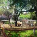 Jardin Jorge Isaacs . Image Courtesy of West 8