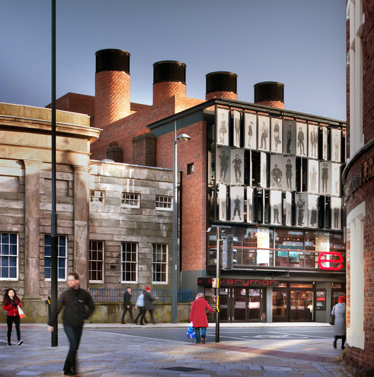 Winner of the 2014 RIBA Stirling Prize: Everyman Theatre (Liverpool) / Haworth Tompkins. Image © Philip Vile
