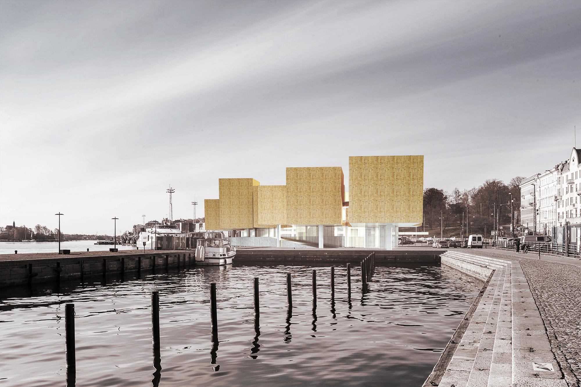 Proposta para o Museu Guggenheim Helsinki / SIAA, Cortesia de SIAA