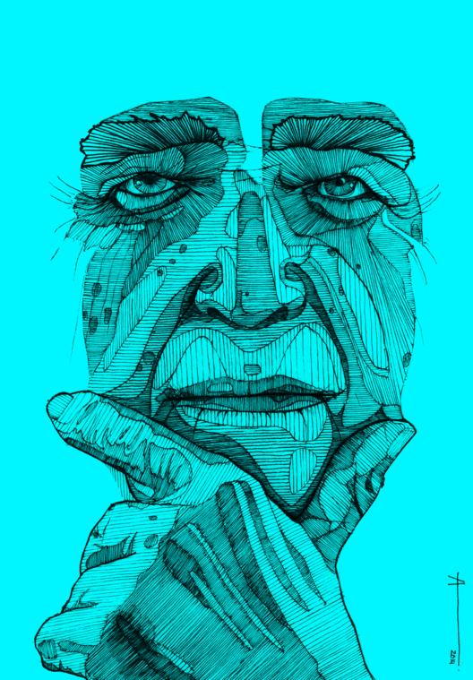 Oscar Niemeyer. Imagem © Francisca Álvarez Ainzúa