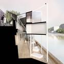 Section. Image © MenoMenoPiu Architects