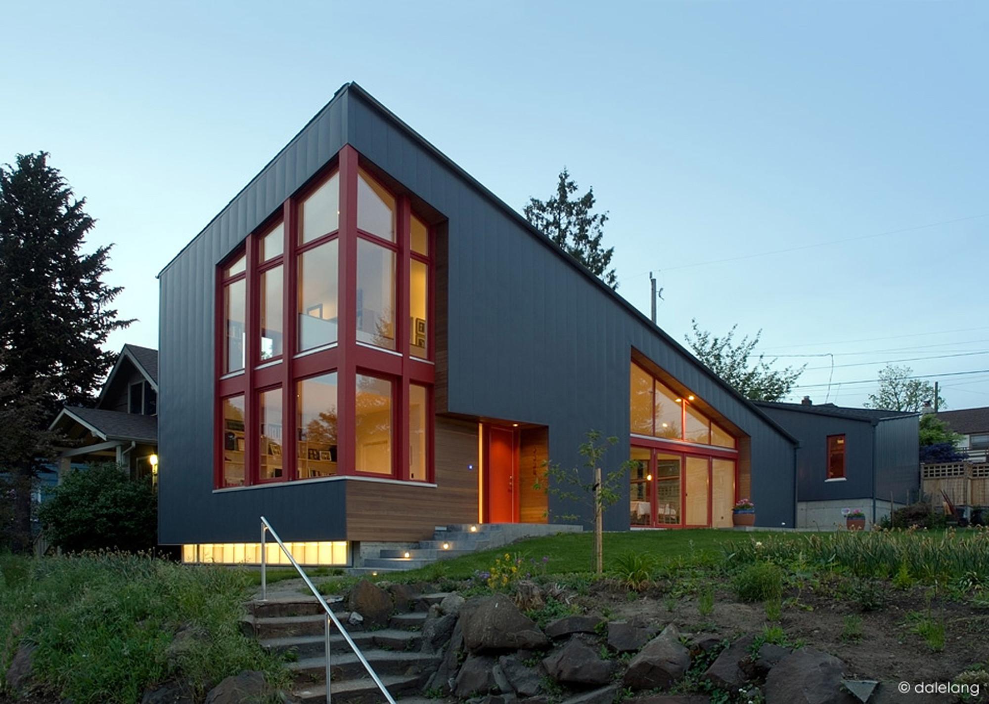 Casa Burke Gilman / Stettler Design, © Dale Lang