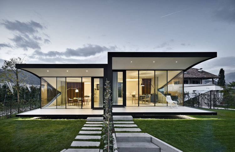 The Mirror Houses / Peter Pichler Architecture, © Oskar Da Riz