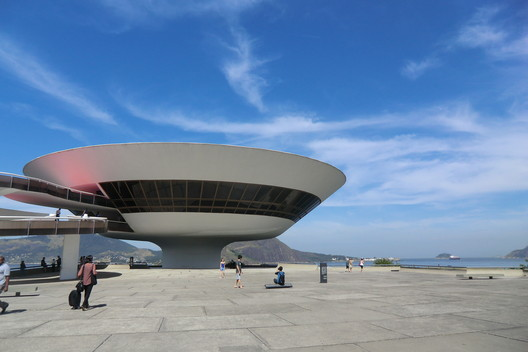 Niterói Contemporary Art Museum. Image © Gili Merin