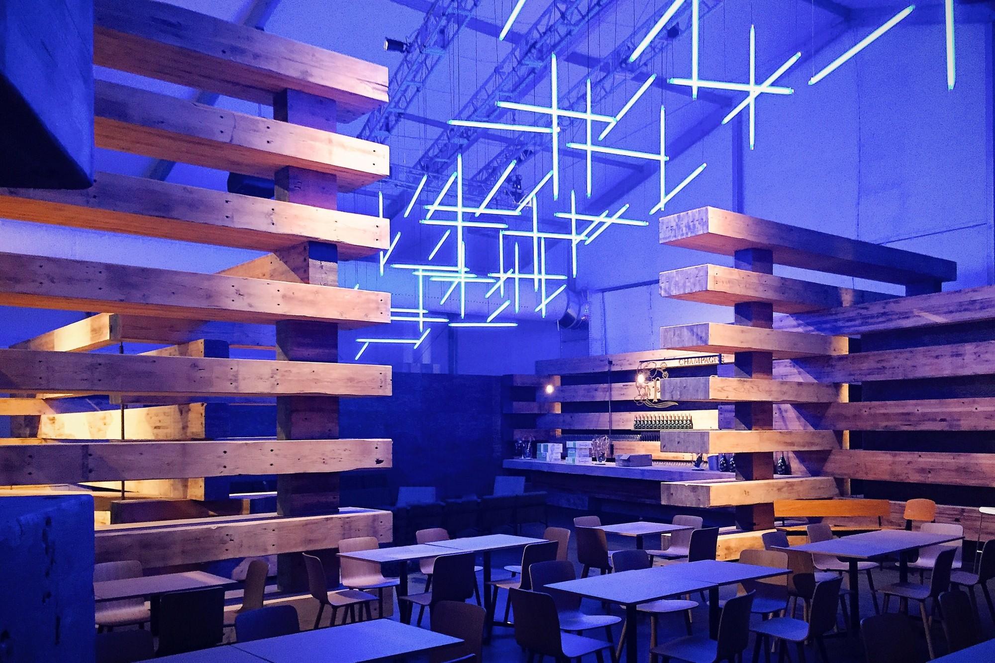 "Gallery of Olson Kundig Repurpose ""38 Beams"" as Design Miami ..."