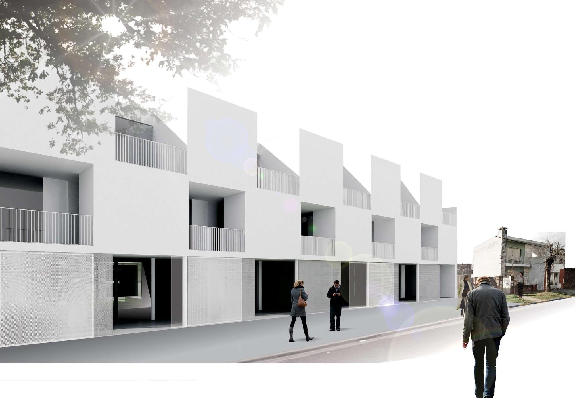 Primer lugar en concurso iberoamericano de vivienda social for Arquitectura en linea