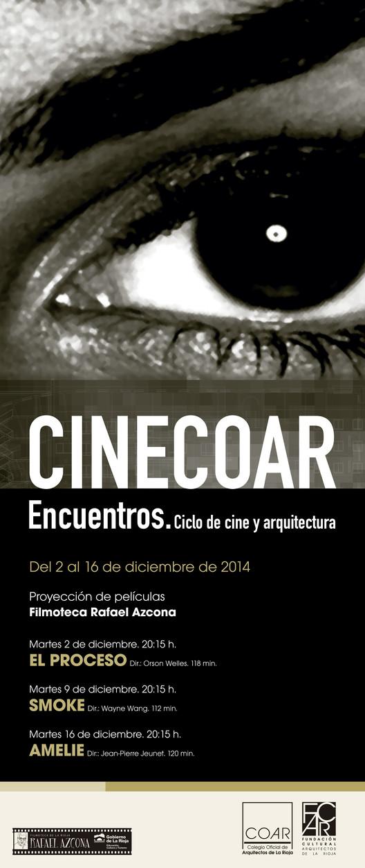 CINECOAR: Ciclo de Cine y Arquitectura. La Rioja, España , Cortesia de Colegio de Arquitectos de la Rioja