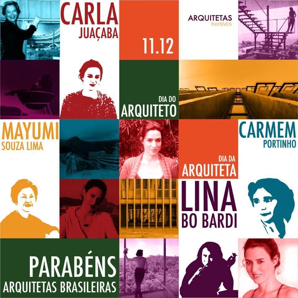 Dia do Arquiteto: As Arquitetas Brasileiras, Cortesia de Arquitetas Invisíveis