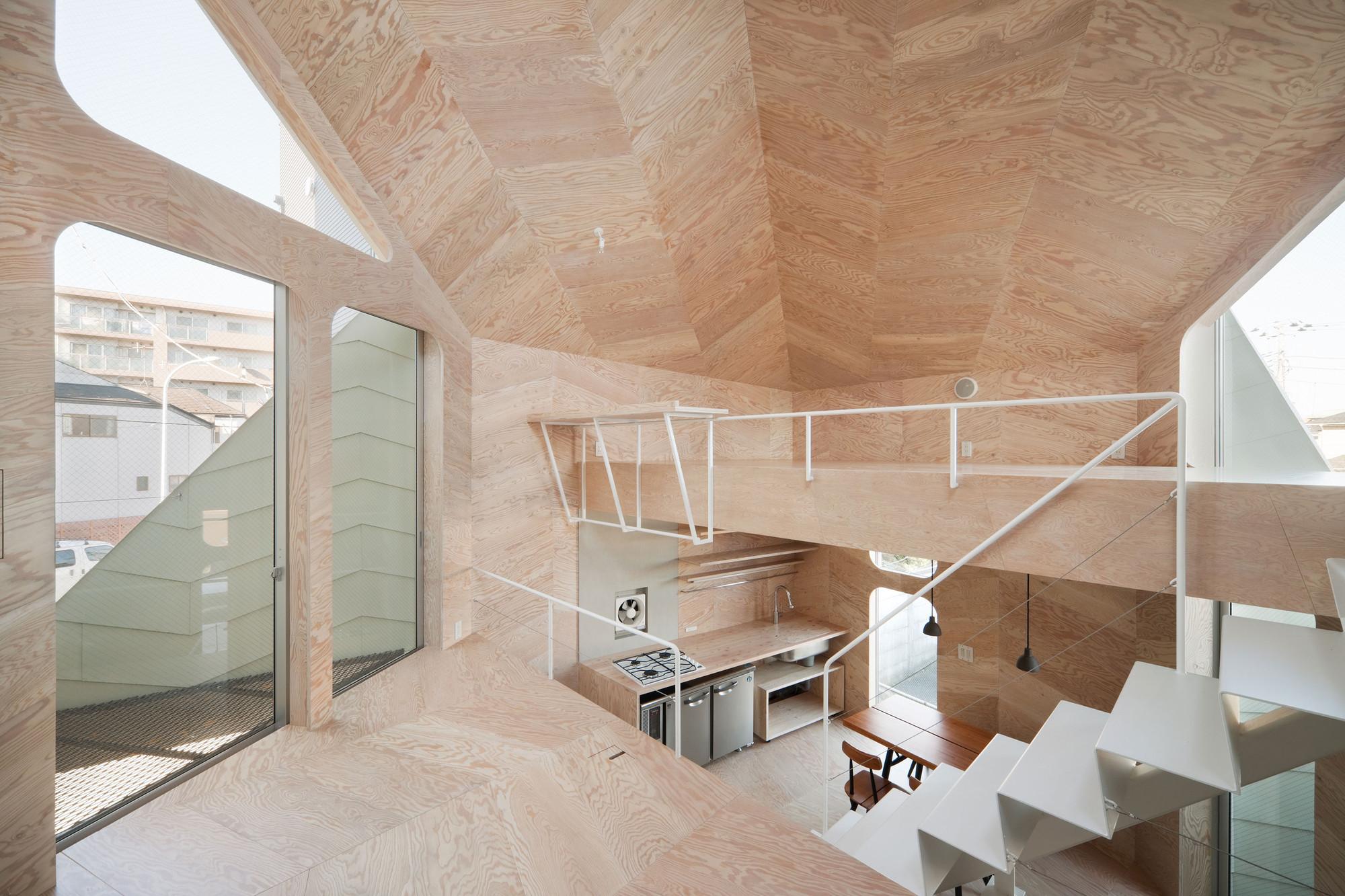 Casa Tsubomi / FLAT HOUSE, © Takumi Ota