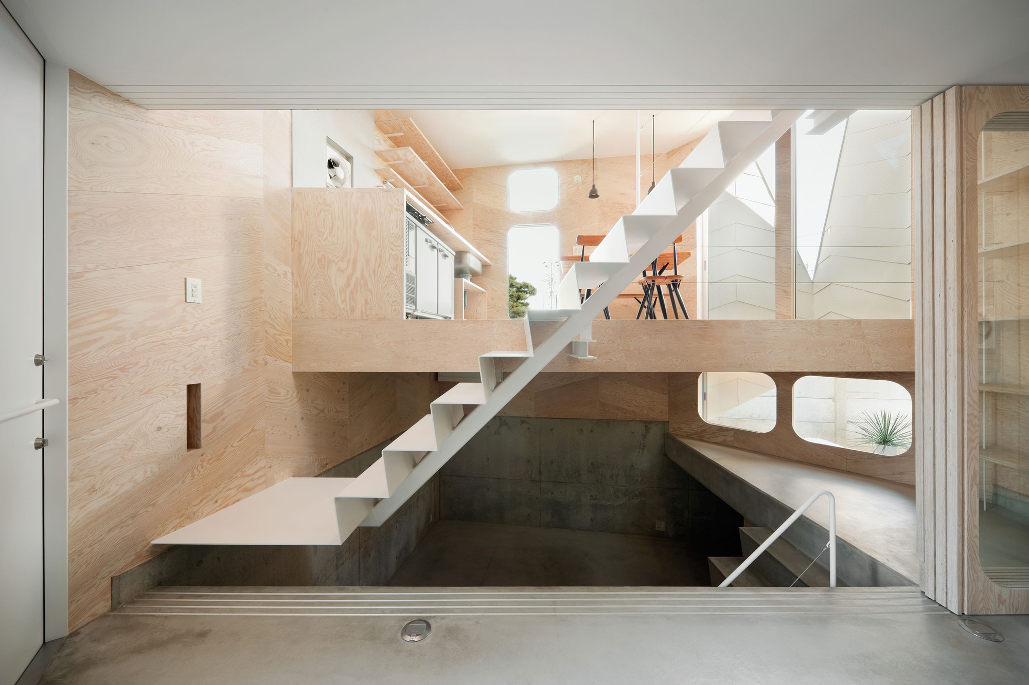 Tsubomi House / FLAT HOUSE | ArchDaily