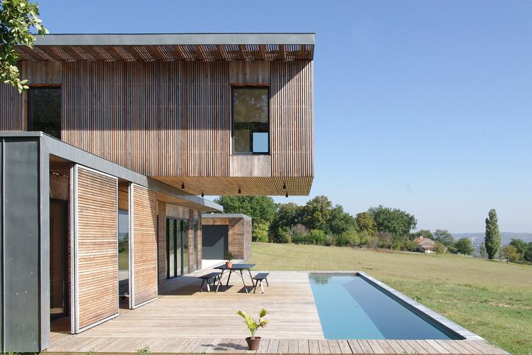 Maison l'Estelle / François Primault architecte, Cortesía de François Primault architecte