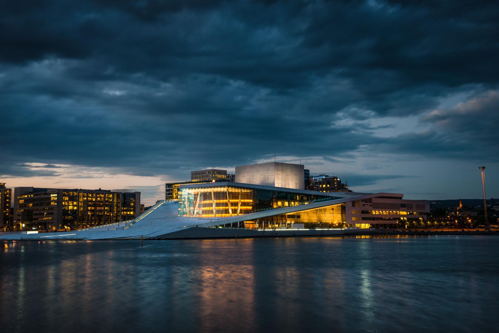 BIG, MVRDV e Snøhetta entre os seis finalistas do concurso para a sede do governo norueguês, Oslo Opera House / Snøhetta. Imagem © CC Flickr User Howard Ignatius
