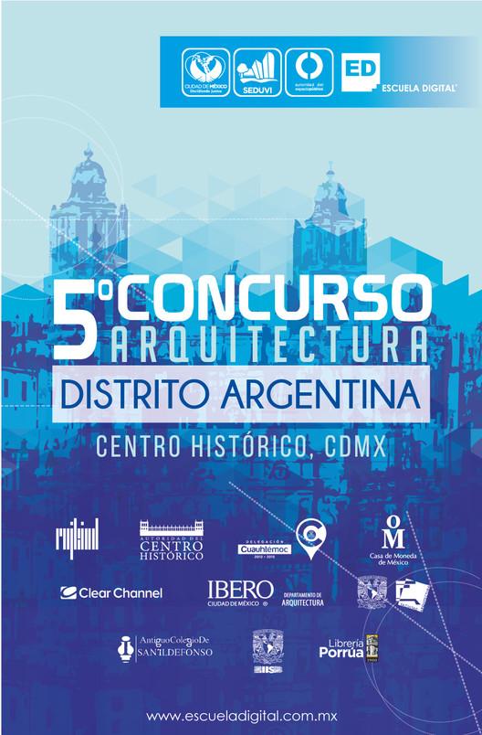 5° Concurso de Arquitectura Intervención Urbana: Distrito Argentina / Escuela Digital