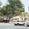 Vista a partir da paulista. Image Cortesia de Hereñú + Ferroni Arquitetos