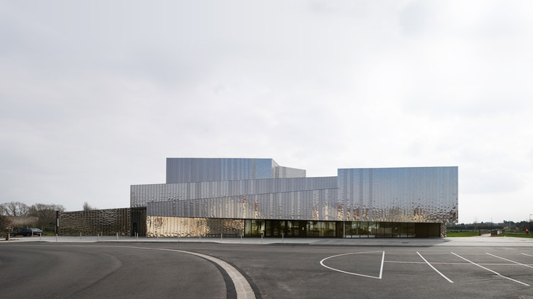 Centro multicultural en Isbergues  / Dominique Coulon & Associés, © David Romero-Uzeda
