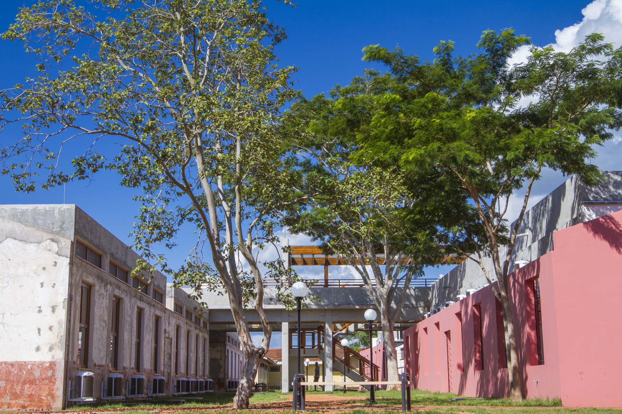 Biblioteca Paulo Freire / 3C Arquitetura e Urbanismo, © Saga Fotografia