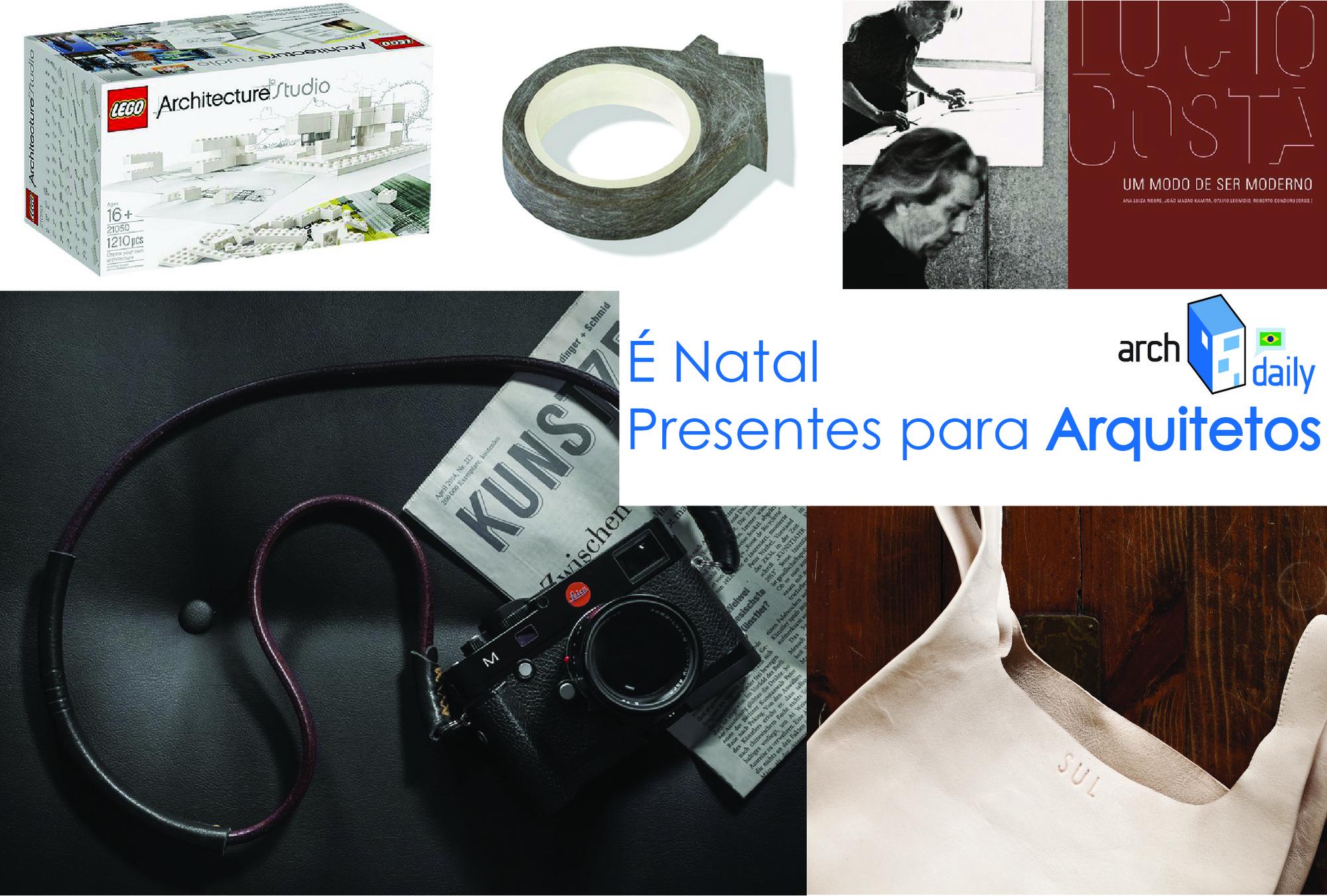 Lista de presentes de Natal para arquitetos, Pedro Vada. Image Cortesia de ArchDaily Brasil