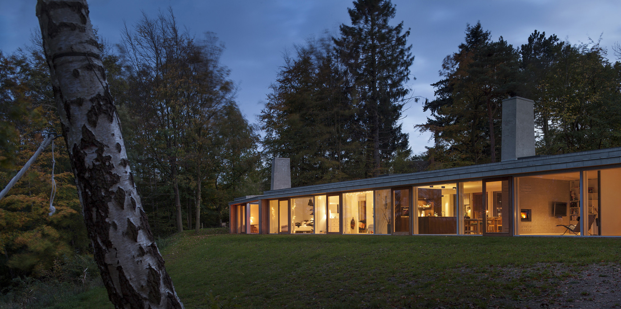 Villa Buresø / Mette Lange Architects, © Hampus Berndtson