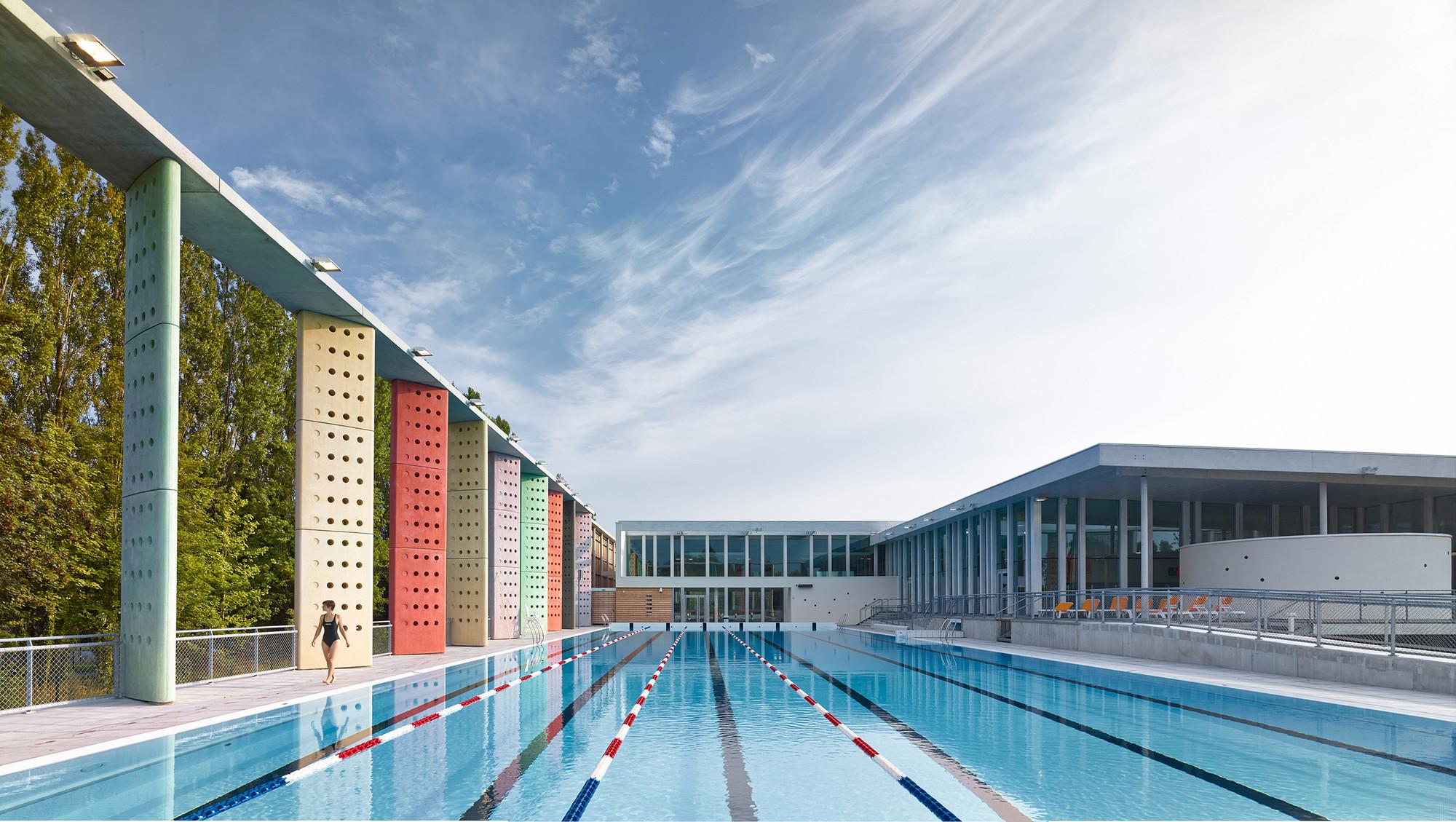 Aquatic Centre Louviers / DRD Architecture, © Gregoire Auger
