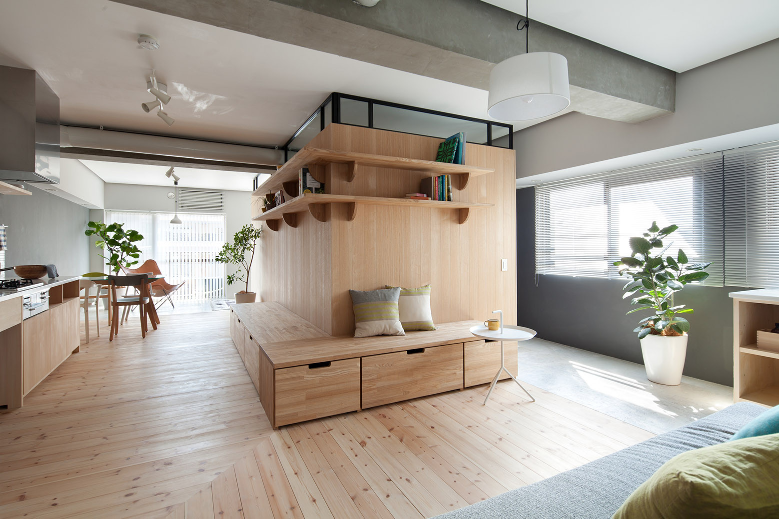 Fujigaoka m sinato archdaily - Solutions for small spaces plan ...