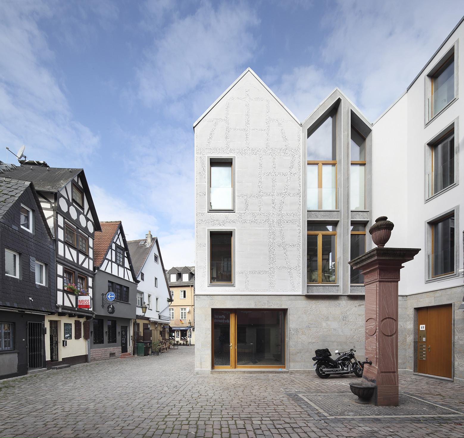Architekturbüros Frankfurt kleine rittergasse 11 franken architekten archdaily