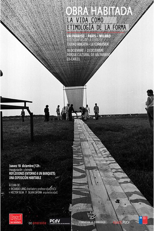 Exposición Obra Habitada: Valparaiso, Chile, Cortesia de Obra Habitada