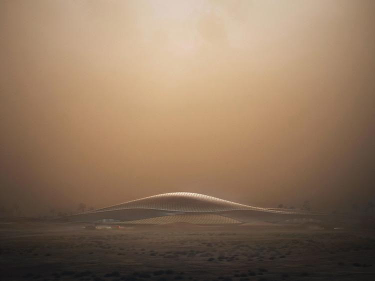 Inspirada en las dunas, Zaha Hadid diseña la sede principal de Bee'ah, © Zaha Hadid Architects / MIR