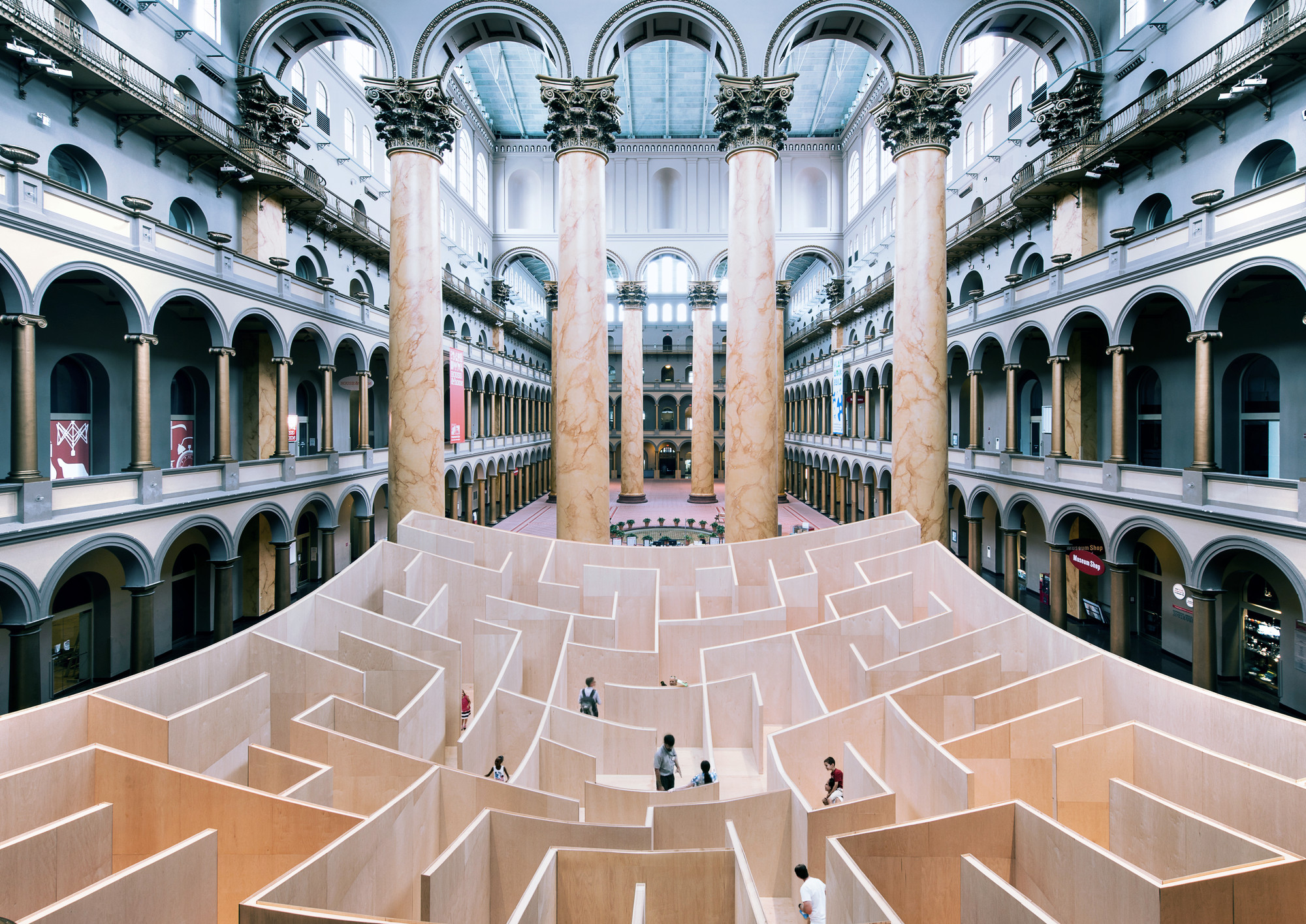 "BIG Returns to the National Building Museum with ""HOT TO COLD: an odyssey of architectural adaptation"""