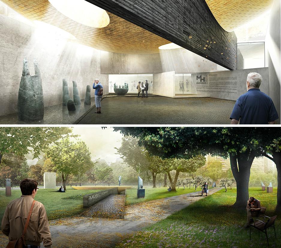 BBATS + TIRADO, Primer Lugar en concurso de diseño del Parque Museo Humano San Borja / Santiago, Cortesia de BBATS + TIRADO