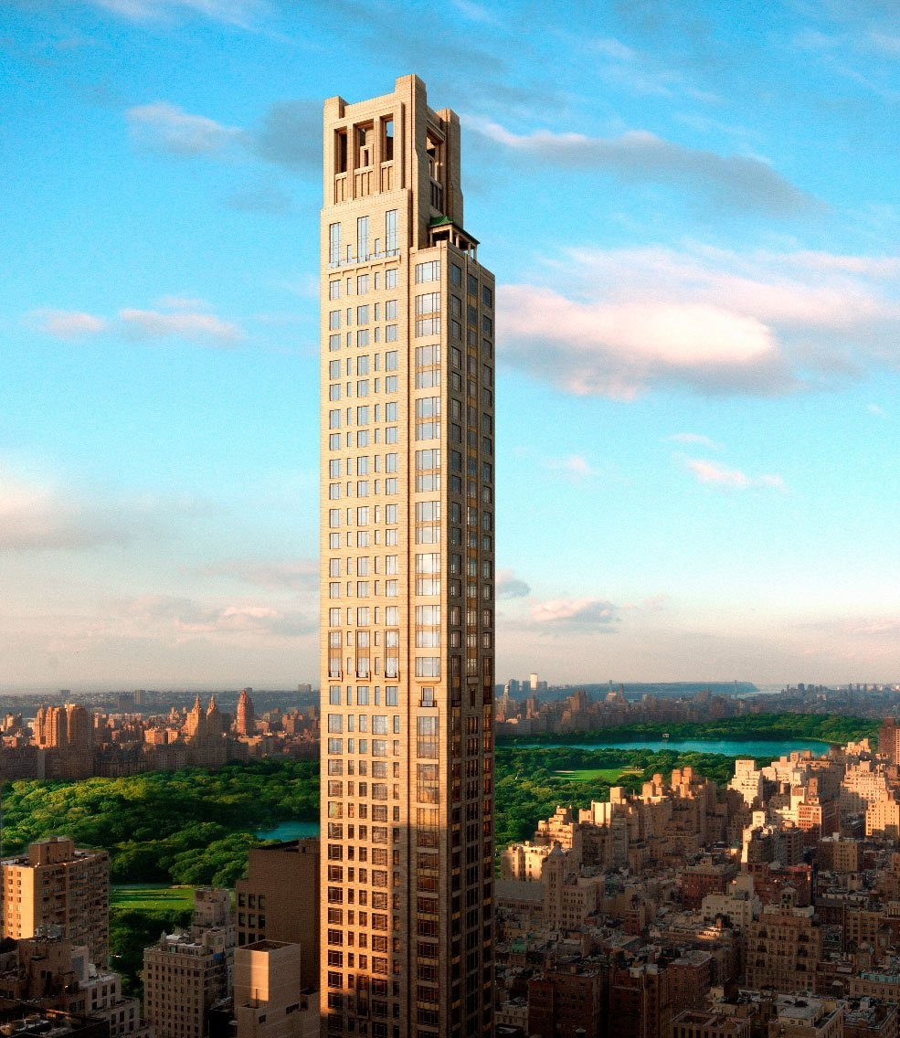 Aparments In Nyc: Gallery Of Interior Renders Of Robert AM Stern's 520 Park