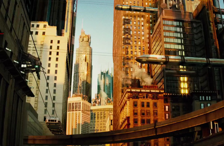 11 películas que imaginaron como serían nuestras ciudades en el futuro
