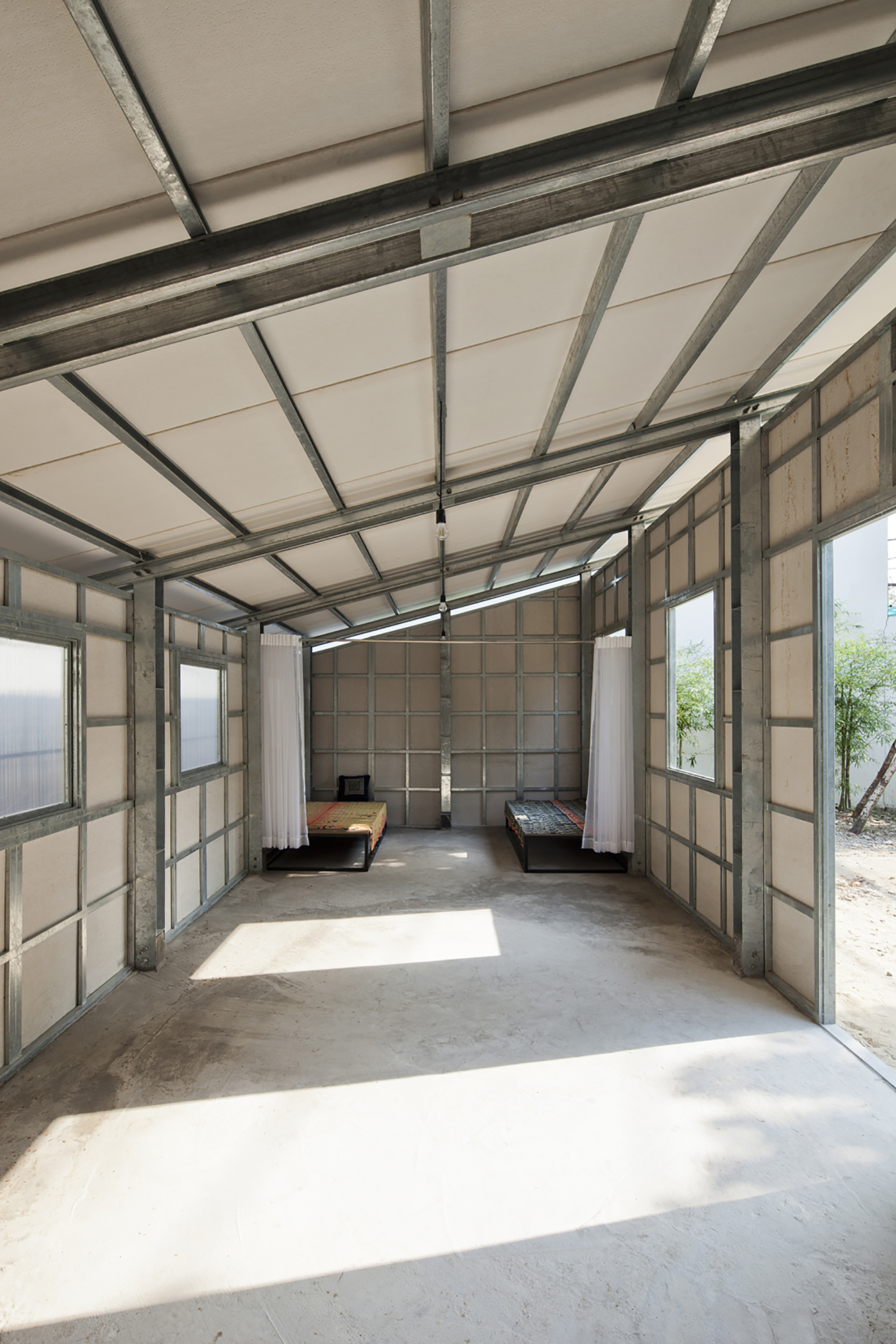 Gallery of s house 3 vo trong nghia architects 9 - Casa de estructura metalica ...