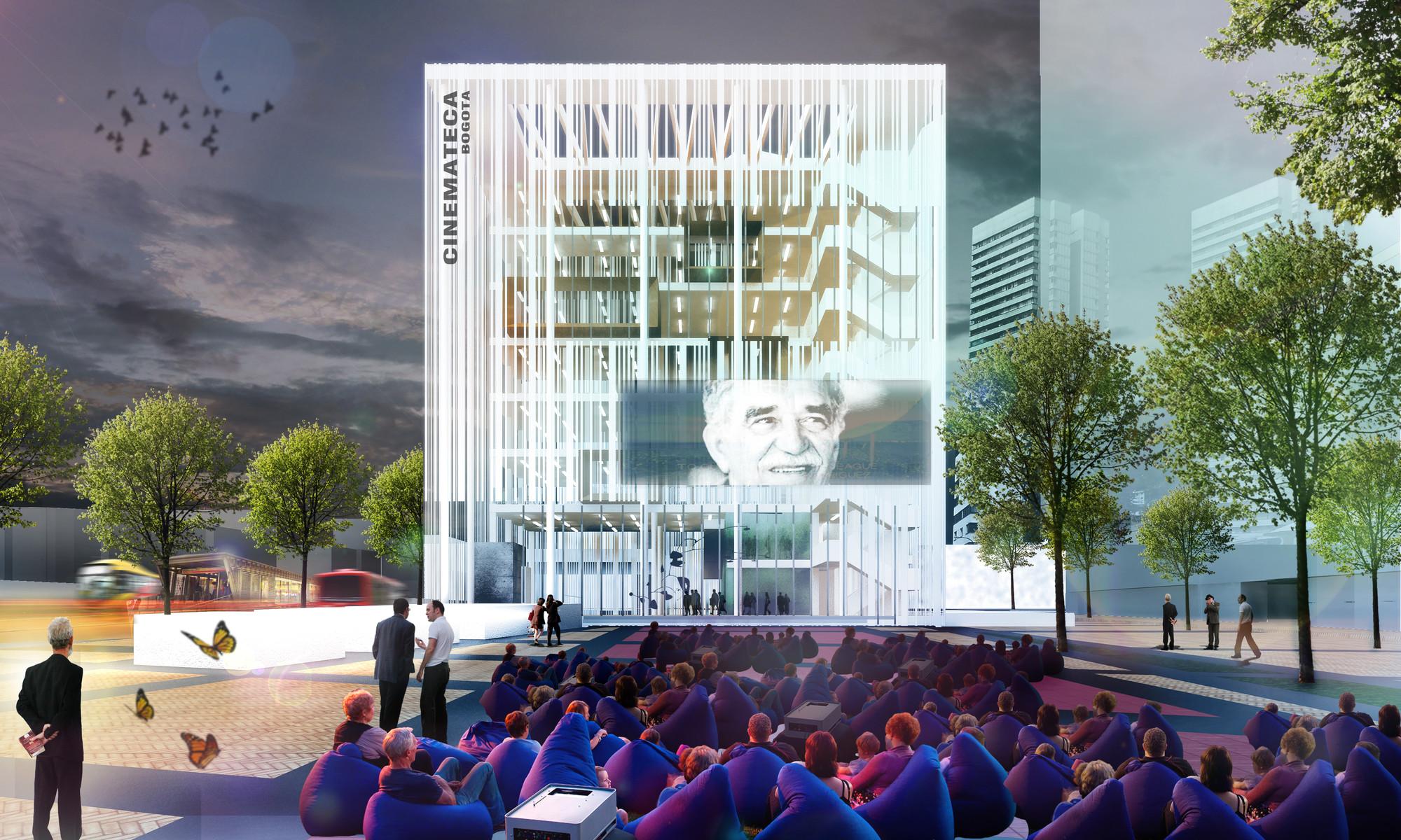 Mención Honrosa en Concurso público del diseño de nueva cinemateca distrital de Bogotá / Colombia, Cortesia de MC Arquitectos