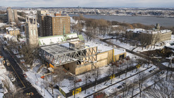 OMA Tops Out on Beaux Arts Museum in Quebec
