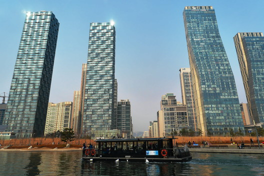 """Songdo, South Korea, was built along the """"smart city"""" template. Image © Flickr User travel oriented"""