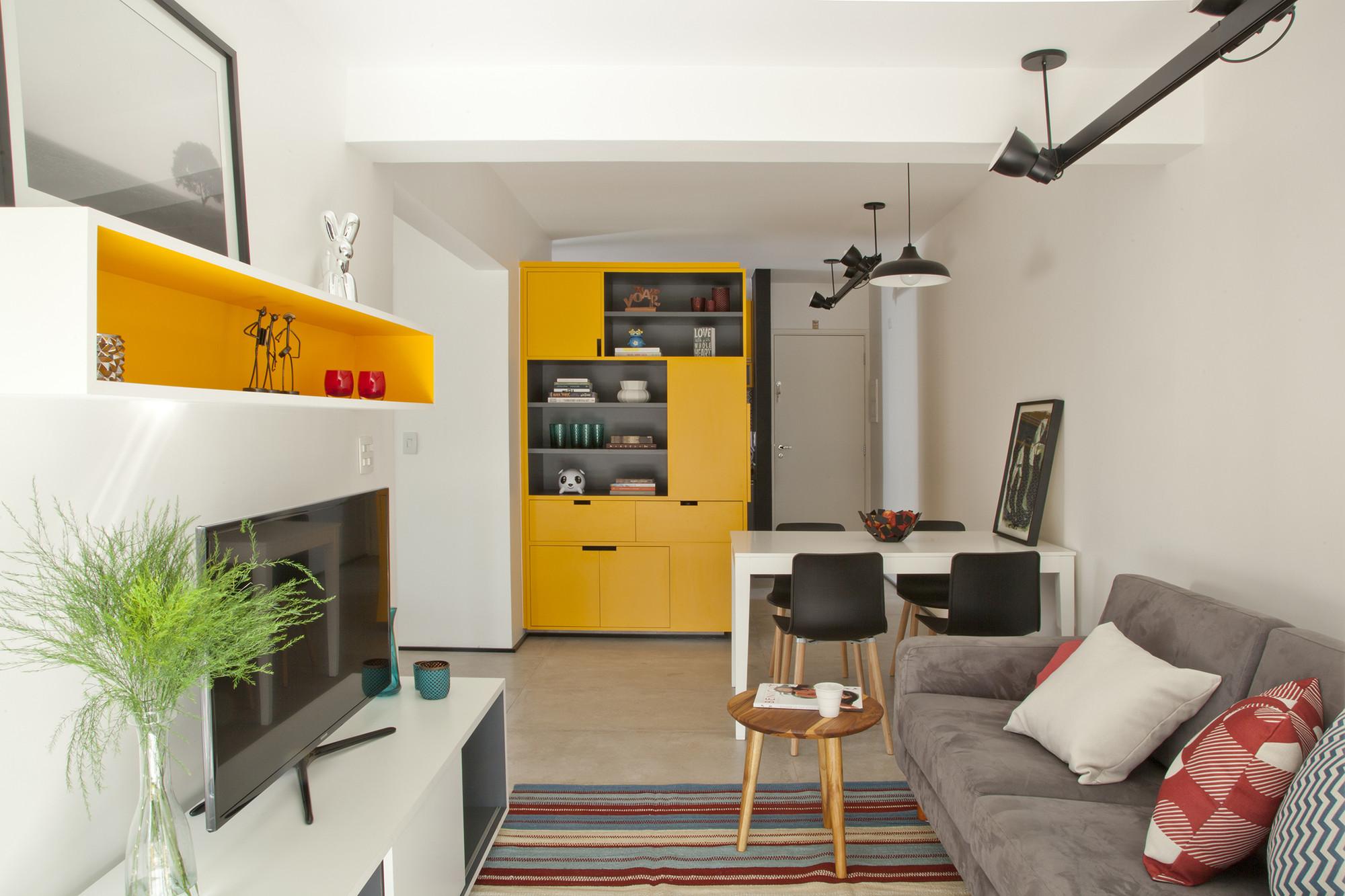 Reforma do apartamento Reserva Saúde / Stuchi & Leite Projetos, © Luis Gomes