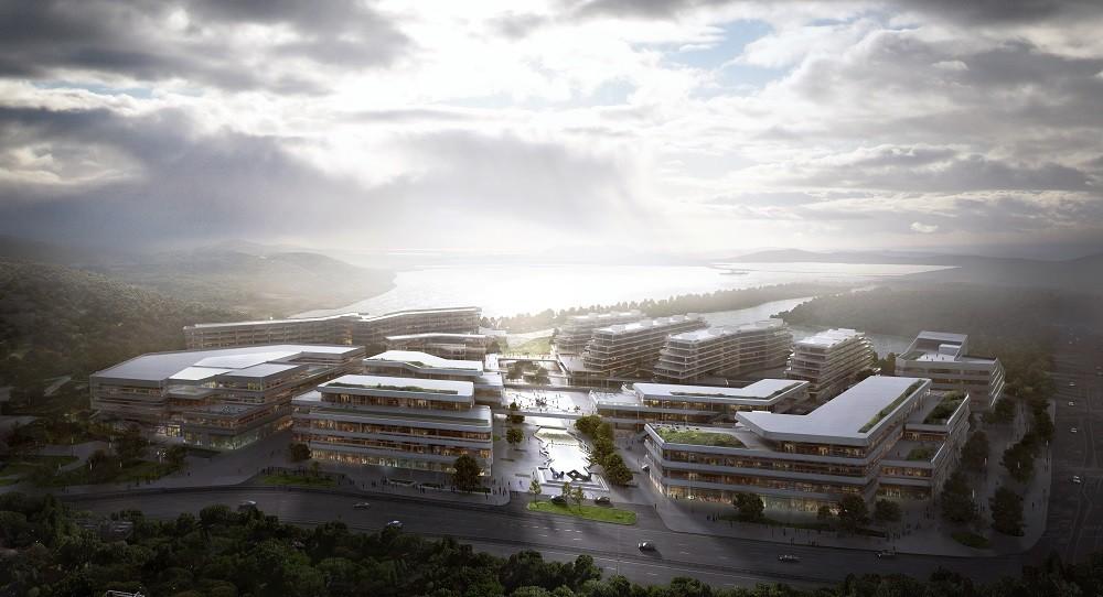 Aedas' Huasha Plaza Set to Complete Next Year, Courtesy of Aedas