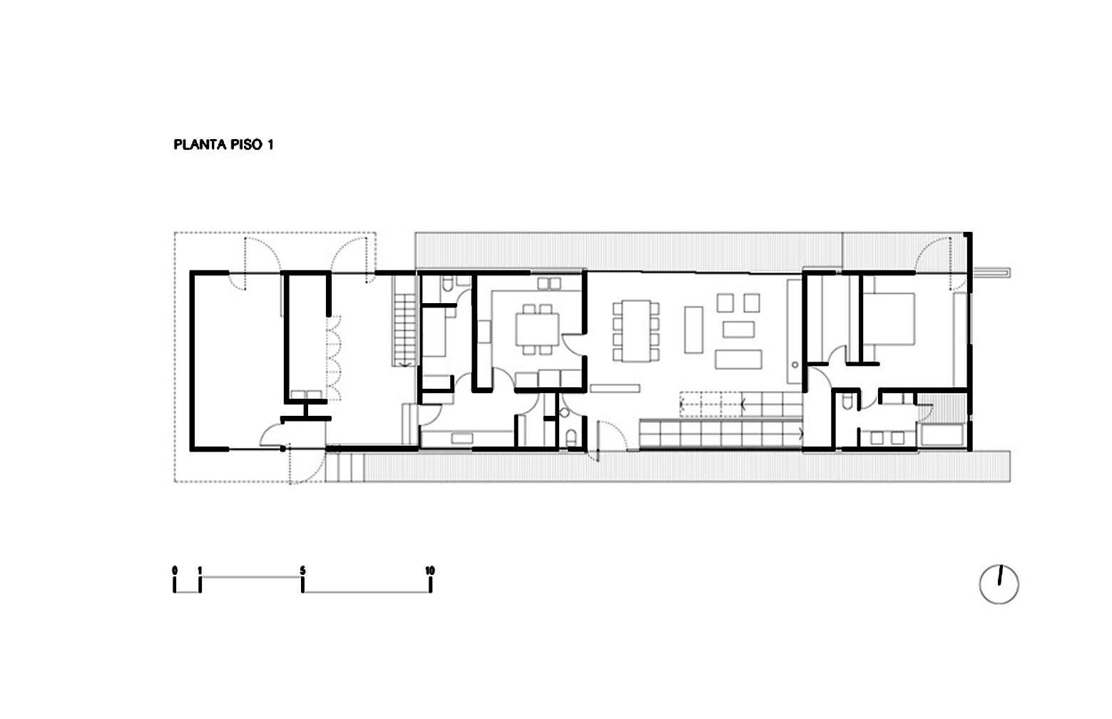 Gallery Of Corredor House Chauriye Stäger Arquitectos 18