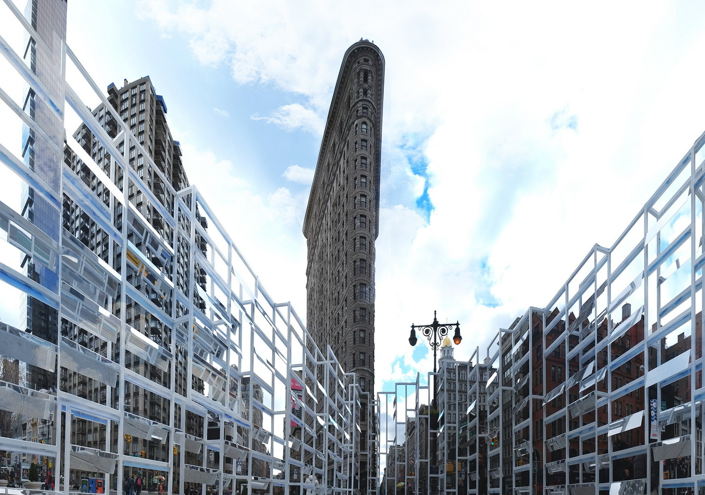 Gallery of INABA Frames Empire State Building with Animated \
