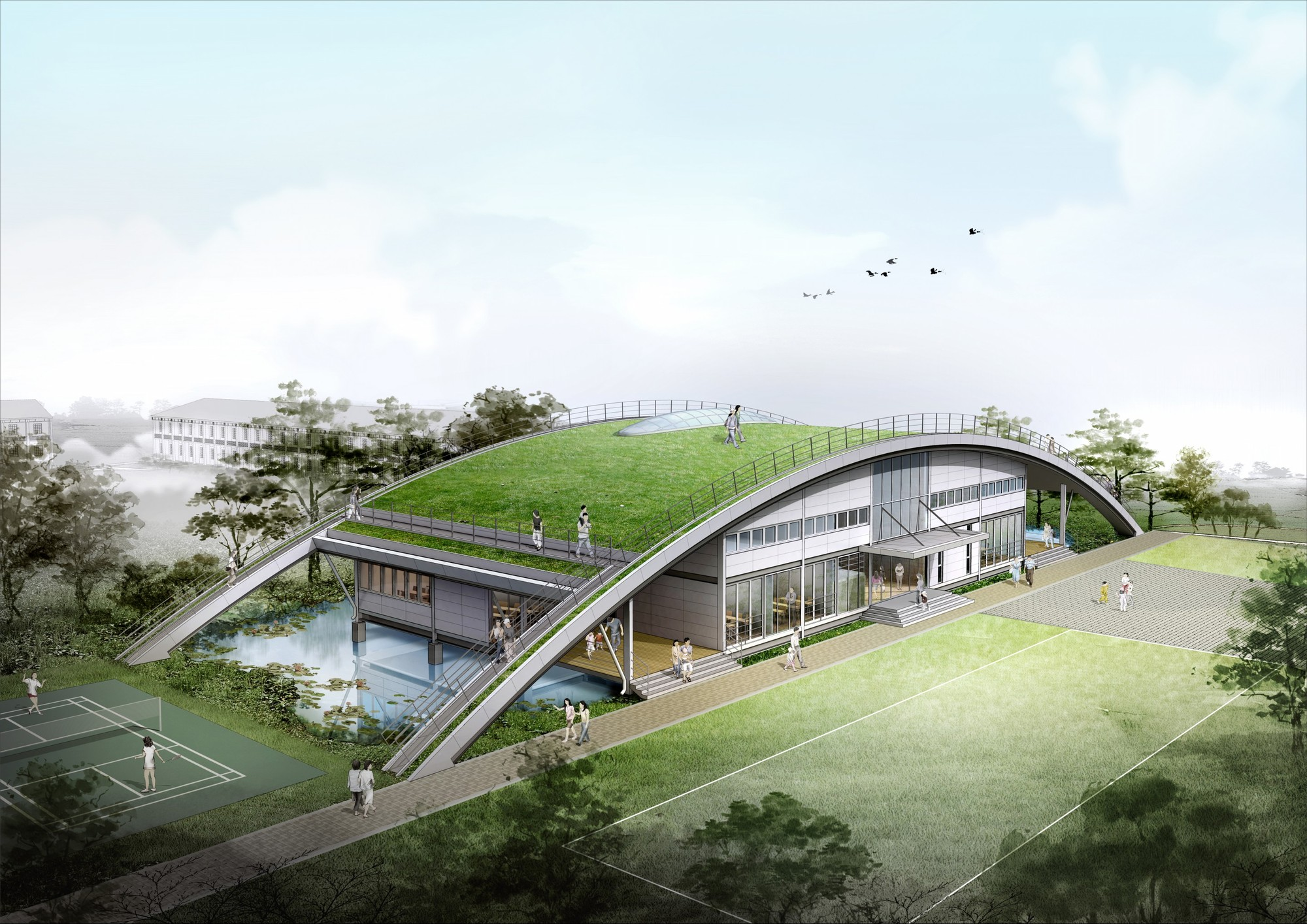 Green Homes Plans Gallery Of Samsung Commissions Choon Soo Ryu To Design